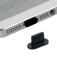 Staub Schutz black f Apple iPhone 5 abgerundet Lade Anschluss