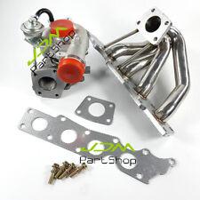 For Mazda mazdaspeed 3 / 6 -2.3l Turbo Manifold Header+ New K0422 Turbocharger