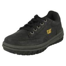Chaussures CAT à lacets en cuir pour garçon de 2 à 16 ans