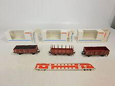 AU164-1# 3x Märklin/Marklin H0/AC Güterwagen DB: 4459+4431+4430, NEUW+OVP
