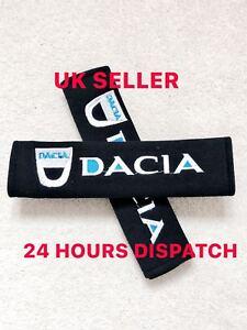 2 Car Seat Belt Shoulder Cover Pads DACIA duster stepway sandero Logan
