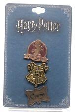 Harry Potter - Gryffindor Badge / Pin Set New Bioworld
