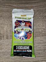 Panini Prizm 2020-21 Premier League Soccer Value Pack - Red White & Blue Prisms