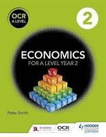 OCR A Level Economics Book 2, Smith, Peter, New Book