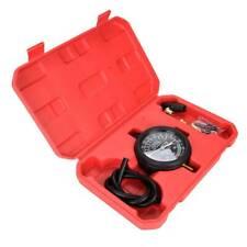 Carburetor Valve Fuel Pump Engine Oil Pressure & Vacuum Tester Gauge Test Kit US