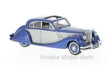 #49544 - NEO Jaguar MK V-metallic-bleu/argent - 1950 - 1:43