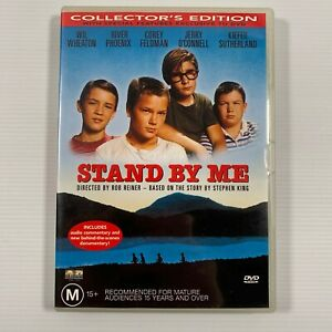 Stand By Me Collector's Edition (DVD 2001) 1986 film River Phoenix Region 4