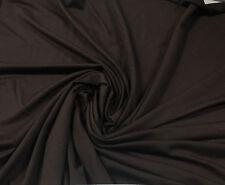 Bamboo Tencel Spandex Jersey Knit Fabric Ecofriendly HighEnd  CHOCOLATE B  10 oz