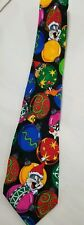 Looney Tunes 100% Silk Bugs Bunny, Tweetie, Sylvester, Daffy, Taz Christmas Tie
