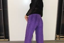FENDI purple Zucca Vintage Trousers Jeans Curduroy