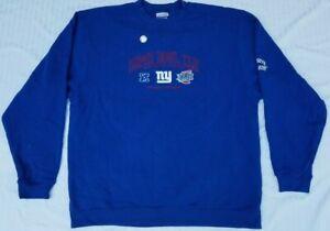 2008 Super Bowl XLII Arizona Sweatshirt - New York Giants