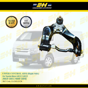For Toyota Power Van 1996-2001 Front Upper Wishbone Track Suspension Arm Pair