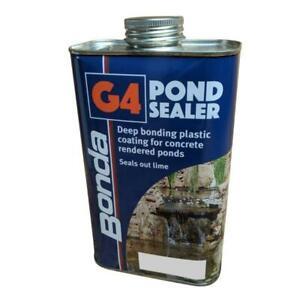 G4 Pond Sealer Waterproof Paint Plastic Coating Sealant Concrete Bonding Seal