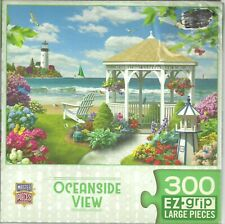 OCEANSIDE VIEW BY ALAN GIANA - Complete - LARGE PIECES PUZZLE