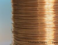 Unplated Bronze Round Wire 0.4mm to 5.0mm Jewelry Making / Wire Craft