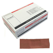 1 Box of Steroplast Premium 7.5cmx2.5cm Fabric Ultra Heavy Duty Large Plasters