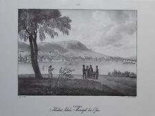Kloster Klein-Mariazell bei Ofen von Jacob Alt, Ungarn Buda - Kunstblatt Reprint