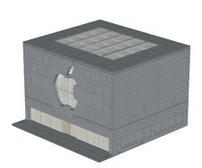 Computer Store Instructions for LEGO Shop Apple Modular Building Advance Model
