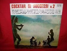 COCKTAIL DI SUCCESSI 2 LP 1967 MINT- Italy Sannia Endrigo Pettenati Carm Villani