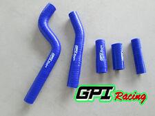 YAMAHA YZF250 YZ250F YZF 250  2010 2011 2012 2013 silicone radiator hose BLUE