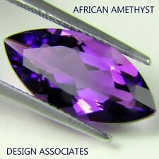 NATURAL AFRICAN AMETHYST MARQUISE CUT 8X4 MM