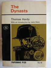 THOMAS HARDY.THE DYNASTS.INT JOHN WAIN.S/B 1965,PAPERMAC P120