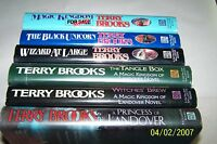 """""""LANDOVER SERIES, 6 VOLUMES"""" by Terry Brooks, SIGNED BY THE AUTHOR"""