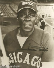 Vintage Chicago White Sox Photo Minnie Minoso Cuban Baseball Great From Cuba
