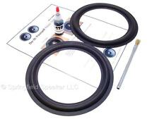 "2 Butyl Rubber 8"" Speaker Surround Repair Kit - Woofer - 2BR8"