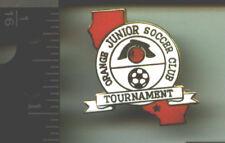 Orange Jr. Soccer Club - Tournament pin