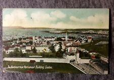 THE HARBOR FROM PARLIAMENT BUILDING QUEBEC CANADA POSTCARD 1900s #L649