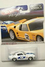 HOT WHEELS CHAPARRAL CAMARO ROAD RACING 2012 ROADRCR WHITE DIECAST 1:64