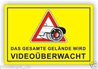 Schild,Gelände,videoüberwachung,videoüberwacht,video,Hinweisschild, Vi59