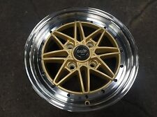 New 15 inch Work Equip Classic Design Wheel (set of 4) PCD 4x114.3 GOLD