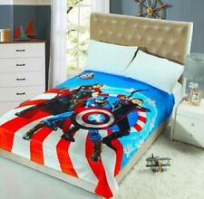 Captain America big coral fleece quilt blanket blankets soft carpet new