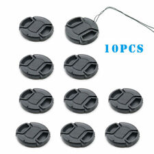 10X 52mm Center Pinch Snap-on Front Lens Cap hood Cover for Nikon Canon Sony New