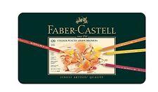 Faber-Castell 110011 - Künstlerfarbstift POLYCHROMOS, 120er Metalletui