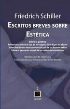 Escritos Breves Sobre Estetica (Paperback or Softback)