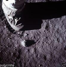 Photo Nasa - Apollo 11 - Pas empreinte de pas sur la Lune