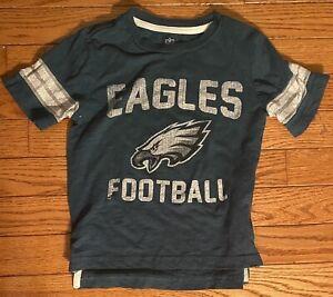 NFL Philadelphia Eagles Toddler Boys Short Sleeve T-Shirt Size - 4 - EUC