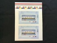 "JPS_Stamps! #2535iii...""Titanic 'Missing Dots/Stars From Uncut Sheet"" (Mint)"