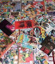 6  X-MEN MARVEL COMICS - 1980's to Present - All Different!...Bargain!!