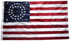 3x5 Embroidered USA American 35 Star Circular Nylon Flag Star 3'x5' Civil War