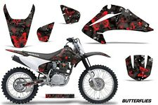 Honda CRF 150/230F Graphic Kit AMR Racing Decal Sticker Part 03-07 BFLY RED BLK