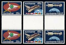 [SU280GP] Suriname 1982 Space Gutter pairs MNH