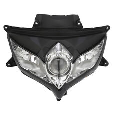 Black Front Headlight Head Lamp Clear Lens Fit For SUZUKI GSXR600/750 2008-2009