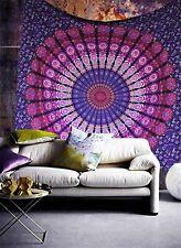 Indian mandala tapestry boho wall hanging hippie ethnic bedding bedspread throw
