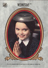 1991 TOPPS THE ADDAMS FAMILY STICKER CARD #5 WEDNESDAY
