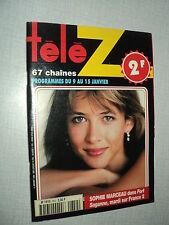 TELE Z852 (4/1/99) SOPHIE MARCEAU LIO GERARD JUGNOT LAURENT DELAHOUSSE FOSSEY