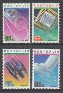 AUSTRALIA 1987 ACHIEVEMENTS IN TECHNOLOGY Set of 4 Stamps MNH Price  $3.00